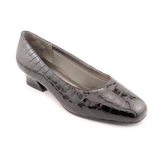 David Tate Women's 'Fresh' Patent Leather Dress Shoes - Extra Wide (Size 5 )