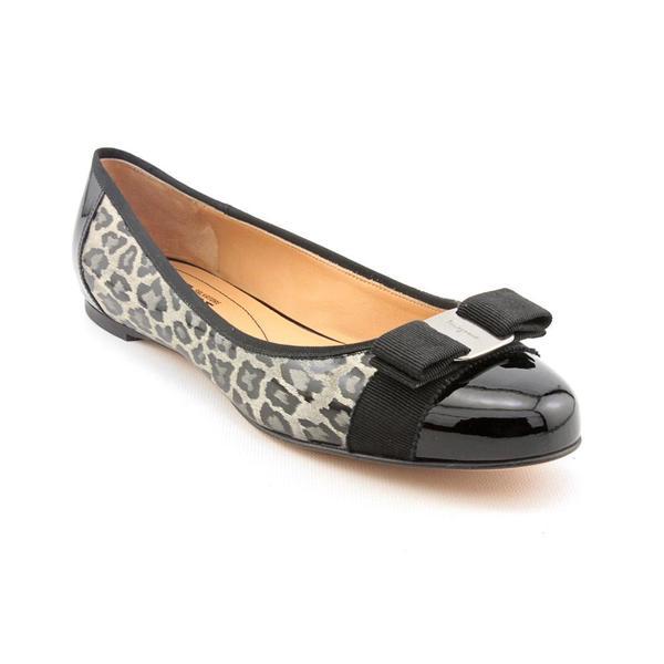 Salvatore Ferragamo Women's 'Tuma' Patent Leather Dress Shoes (Size 10 )