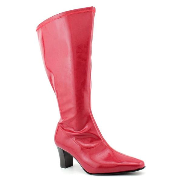 David Tate Women's 'Denver' Patent Boots - Extra Wide (Size 5 )