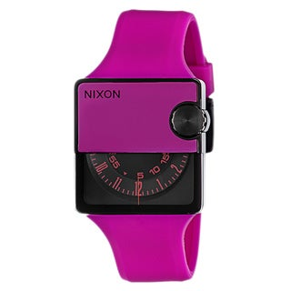 Nixon Men's 'The Murf' Black Stainless Steel Watch