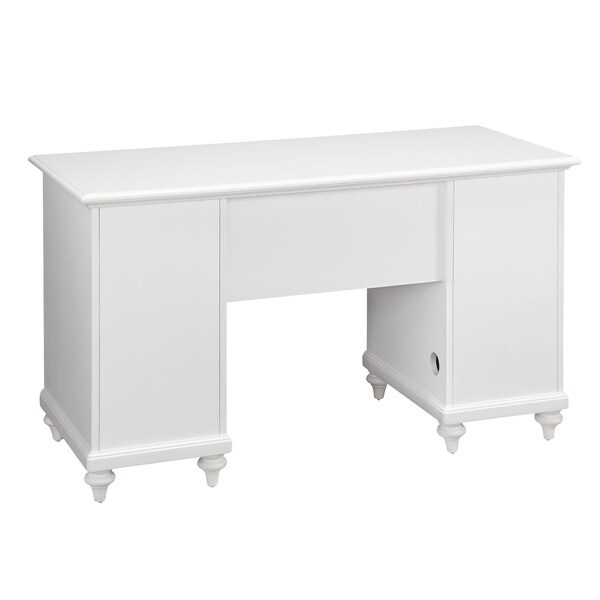 Bermuda Pedestal Desk by Home Styles - Free Shipping Today - Overstock.com  - 15747533