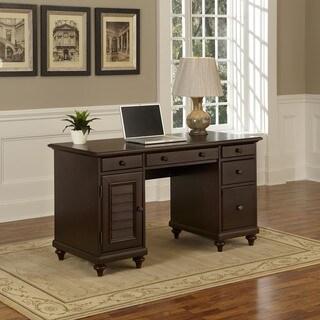 Bermuda Pedestal Desk by Home Styles