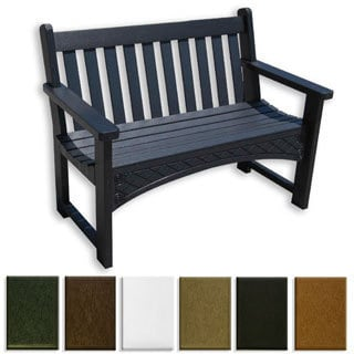 Eagle One Commercial-grade Greenwood Heritage 4-foot Bench