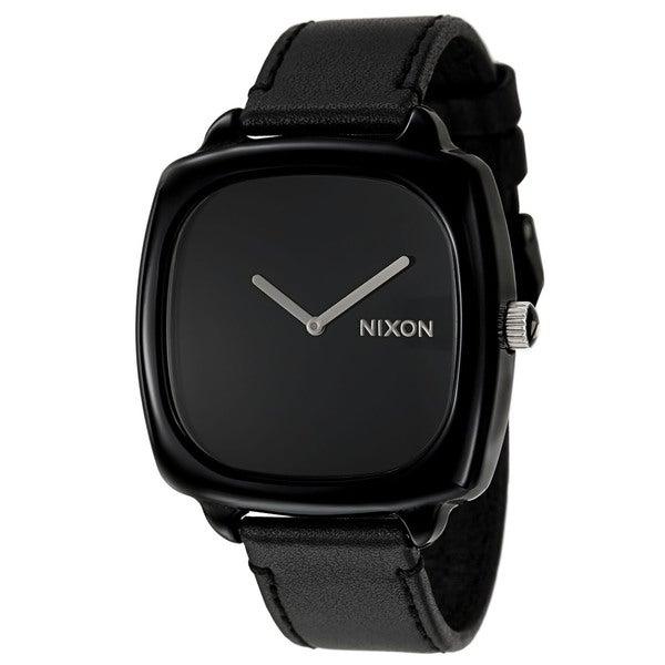 Nixon Women's 'The Shutter' Black Plastic Watch