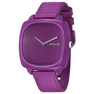 Nixon Women's 'The Shutter' Plastic Watch