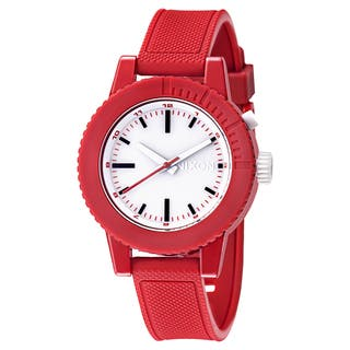 Nixon Women's 'The Gogo' Red Polycarbonate Watch|https://ak1.ostkcdn.com/images/products/8454696/Nixon-Womens-The-Gogo-Red-Polycarbonate-Watch-P15747636.jpg?impolicy=medium