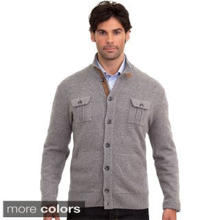 Luigi Baldo Italian Made Men's Cashmere Blend Cardigan