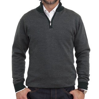 Luigi Baldo Herringbone 1/4-zip Sweater