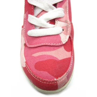 Blue Children's 'K-Ryker' Camo Wedge Sneakers
