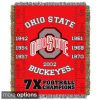 COL 051 NCAA Big Ten Conference School Tapestry Throw