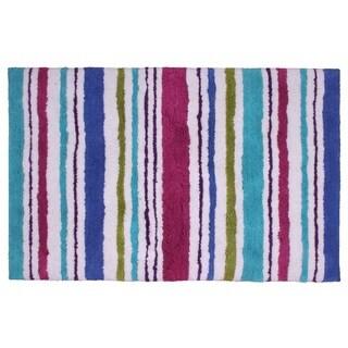 Carousel Stripe 24 x 36-inch Cotton Bathmat