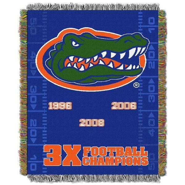 NCAA University of Florida Gators School Tapestry Throw