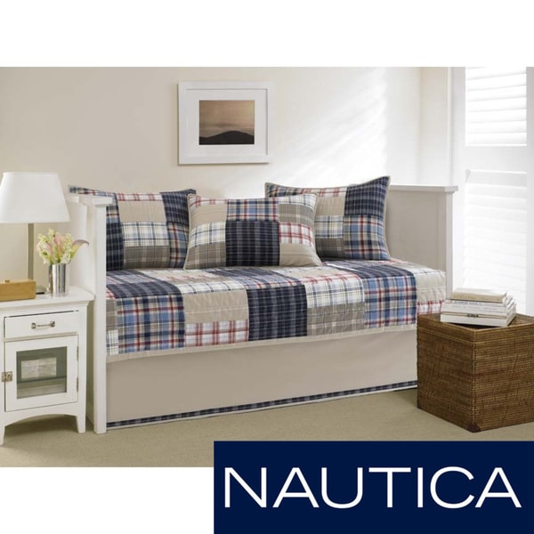 Nautica Chatham Quilted 5 Piece Daybed Set