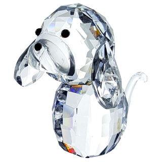 Crystal Florida Crystal Puppy Dog Figurine