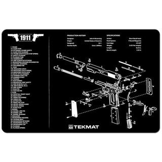 Tekmat 1911 Handgun Mat 17-1911