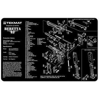 Tekmat Beretta 92 Handgun Mat 17-BER92