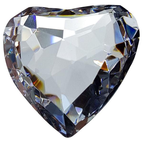 Crystal Florida Crystal 50mm Heart