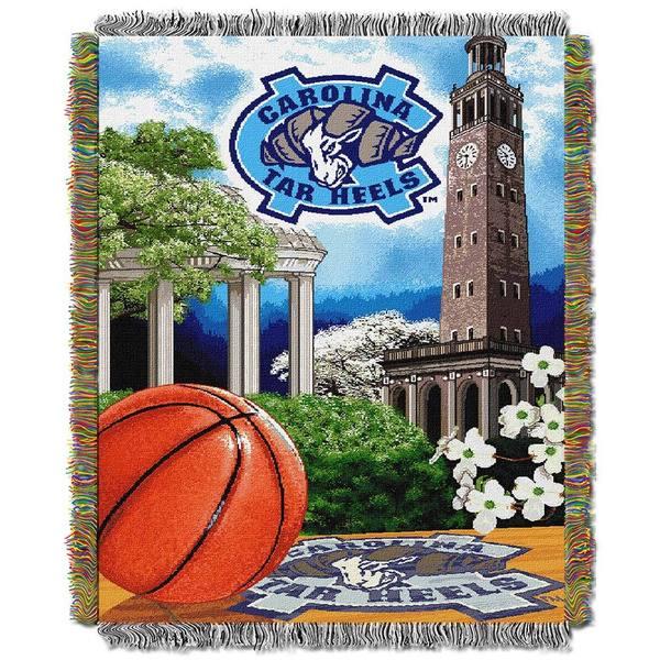 NCAA University of North Carolina at Chapel Hill Tar Heels School Tapestry Throw