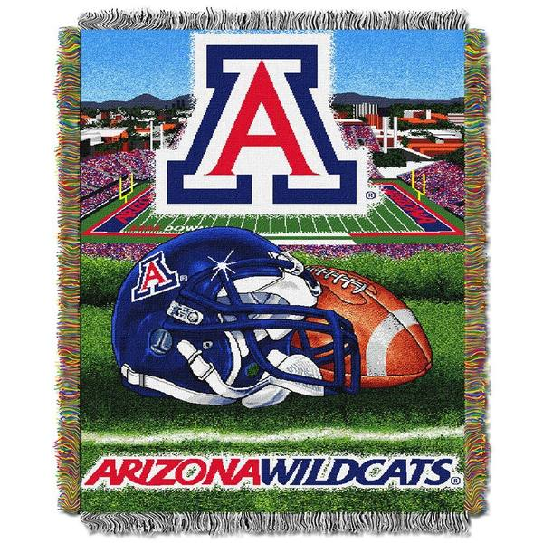 NCAA University of Arizona Wildcats School Tapestry Throw