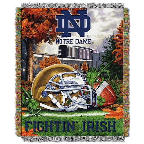 COL 051 NCAA Independent Sector School Tapestry Throw