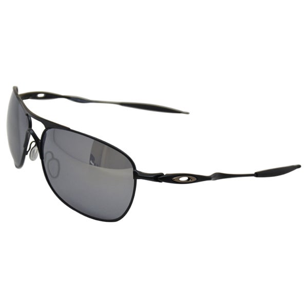 0318452ab7 Shop Oakley Crosshair Sunglasses Matte Black  Black Iridium 61mm ...