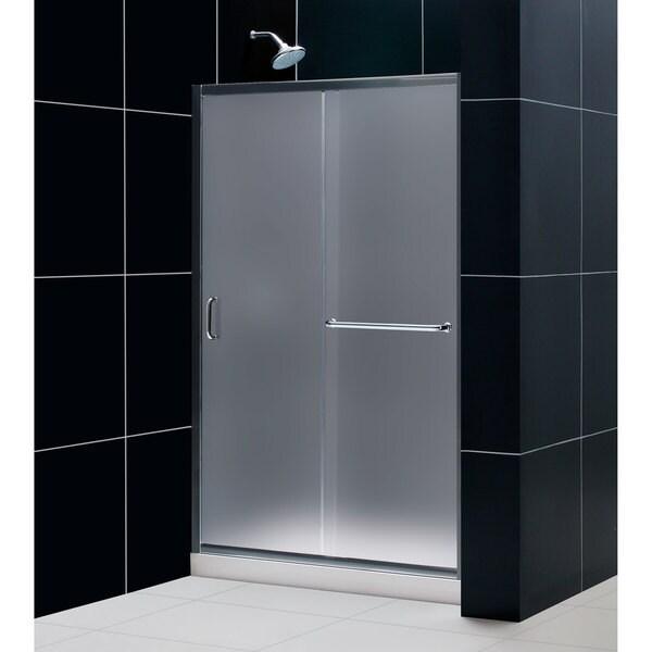 Dreamline Infinity Z Frameless Sliding Shower Door 36 In