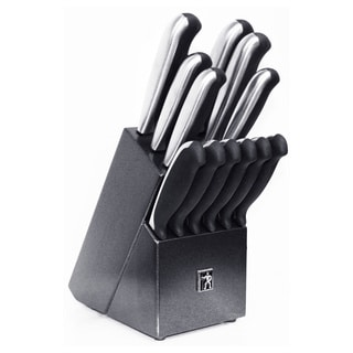 Zwilling J.A. Henckels Stainless Steel Everedge Plus 13-piece Block Set