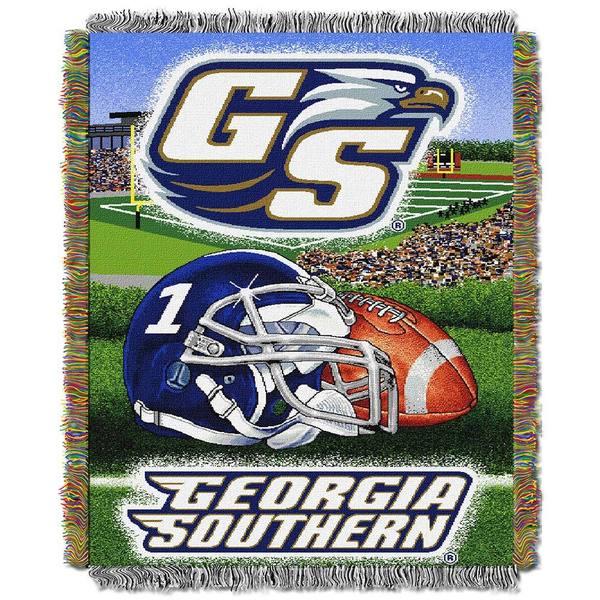 NCAA Georgia Southern University Eagles School Tapestry Throw