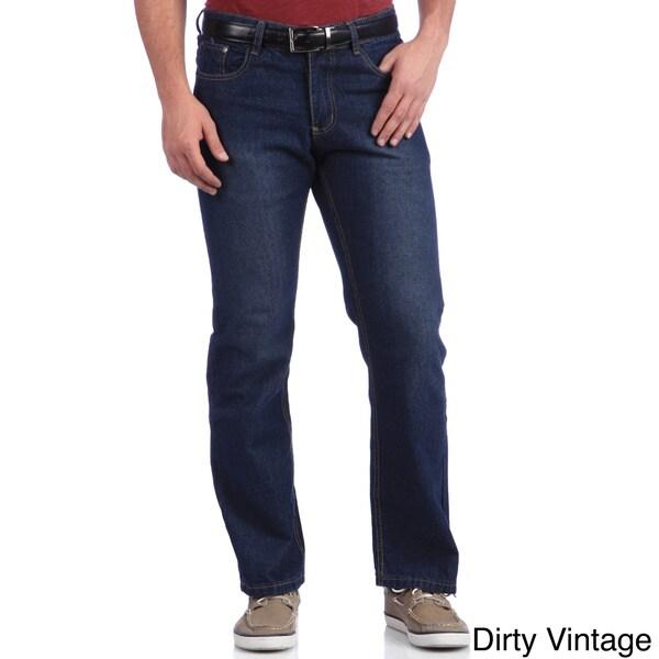Indigo 30 Men's Machine Washable Denim Fashion Jean
