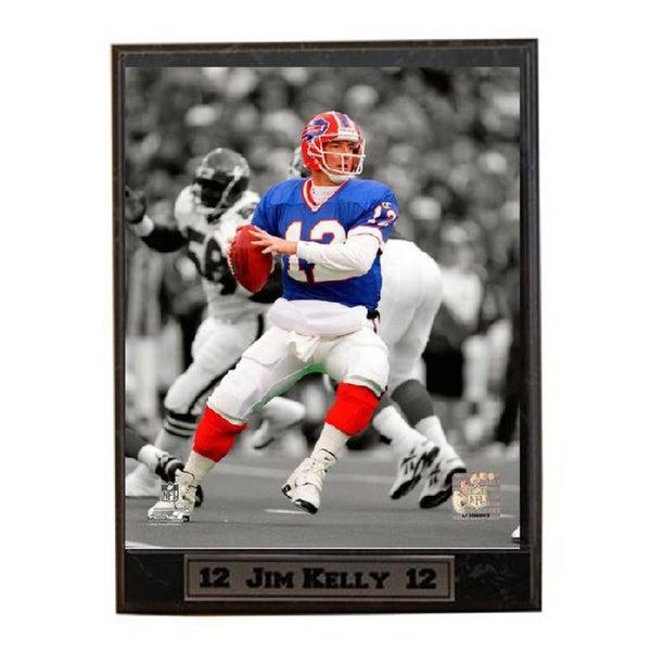 NFL Jim Kelly Buffalo Bills Plaque