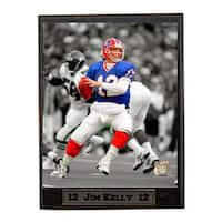 NFL Jim Kelly Buffalo Bills Plaque