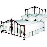 Corsican Red Iron Savannah Queen-size Bed