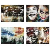 Ready2HangArt 'Gangstars' 4-piece Canvas Wall Art