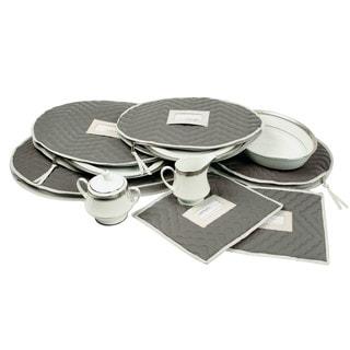Richards Homewares Storage Deluxe Microfiber Accessory Case (Set of 6)