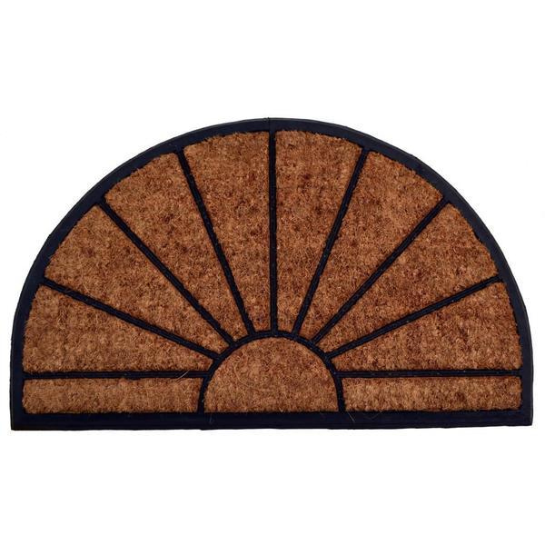 Outdoor Coconut Fiber Sun Door Mat (2'6 x 1'6)