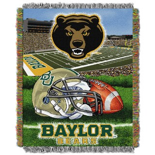 NCAA Big 12 Conference Home Field Advantage Tapestry Throw