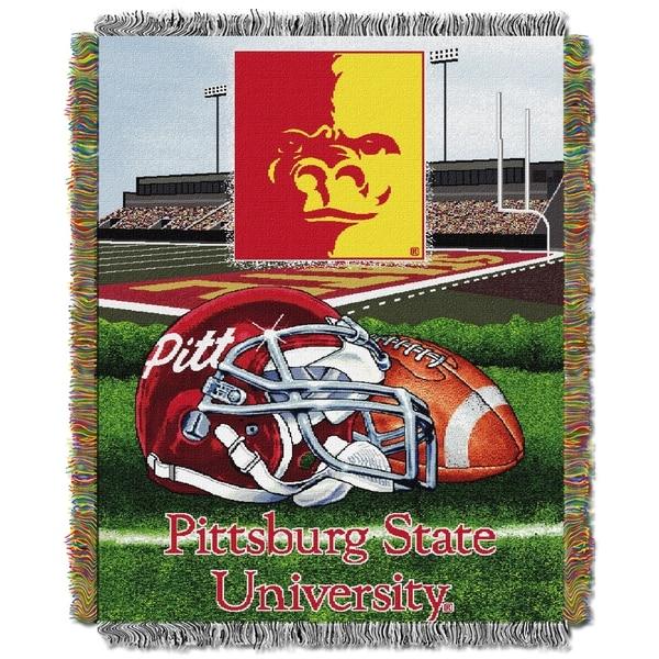 Pitt State University Tapestry Throw