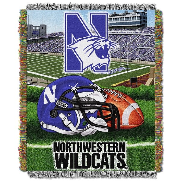 Northwestern University Wildcats Tapestry Throw