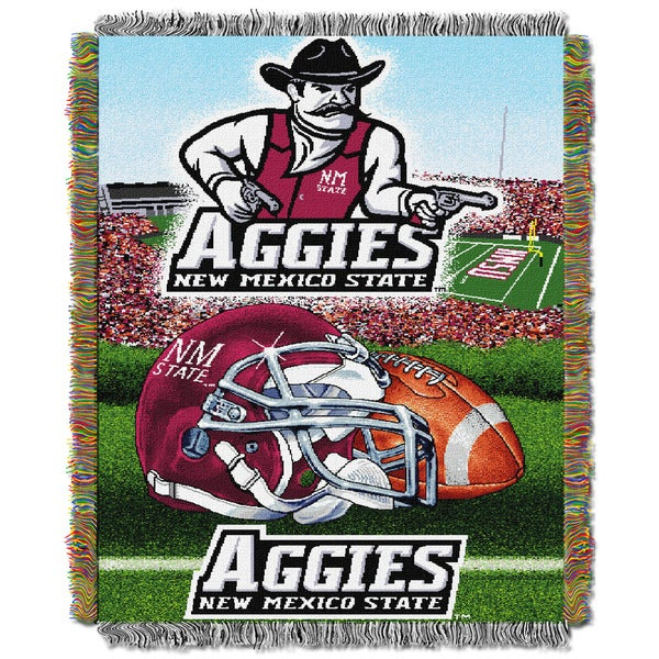 New Mexico State University Aggies Tapestry Throw