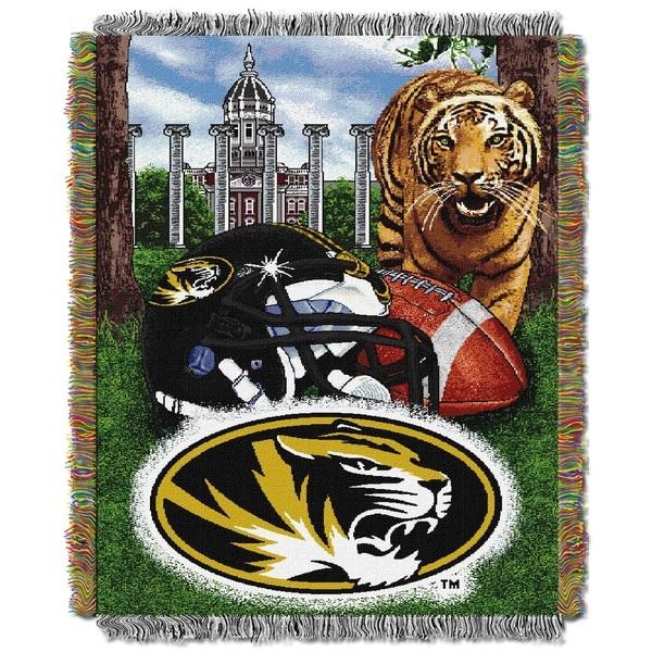 University of Missouri Tapestry Throw