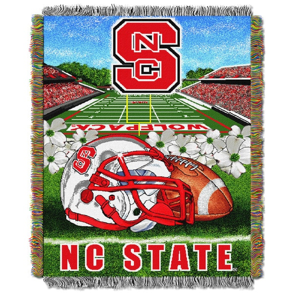 NC State University Tapestry Throw