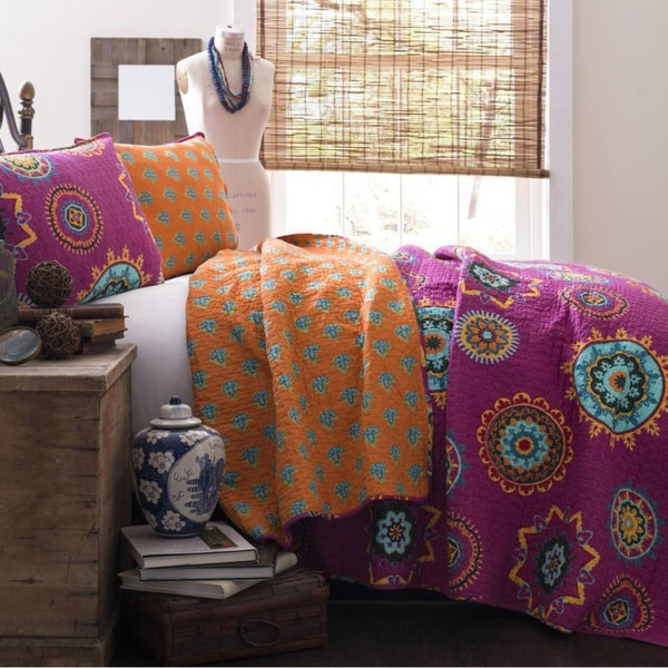 Lush Decor Adrianne 3-piece Quilt Set