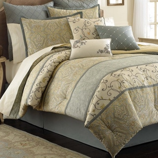 Laura Ashley Berkley 4-piece Comforter Set