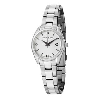 Stuhrling Original Women's Lady Ascot Prime Swiss Quartz Bracelet Bracelet Watch (4 options available)