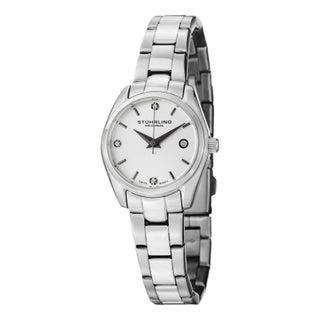 Stuhrling Original Women's Lady Ascot Prime Swiss Quartz Bracelet Bracelet Watch (4 options available)