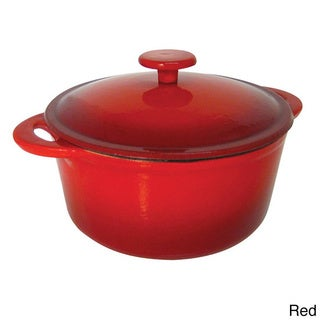 Le Cuistot Heritage Enameled Cast Iron 11-quart Round Dutch Oven