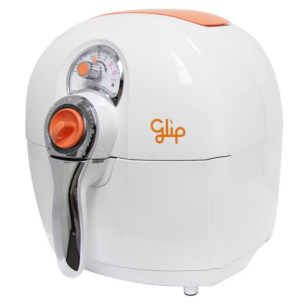Glip af800 white orange 2 2 liter 1400w oil less air Modern home air fryer