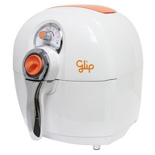 Glip AF800 White/ Orange 2.2 Liter 1400W Oil-less Air Fryer