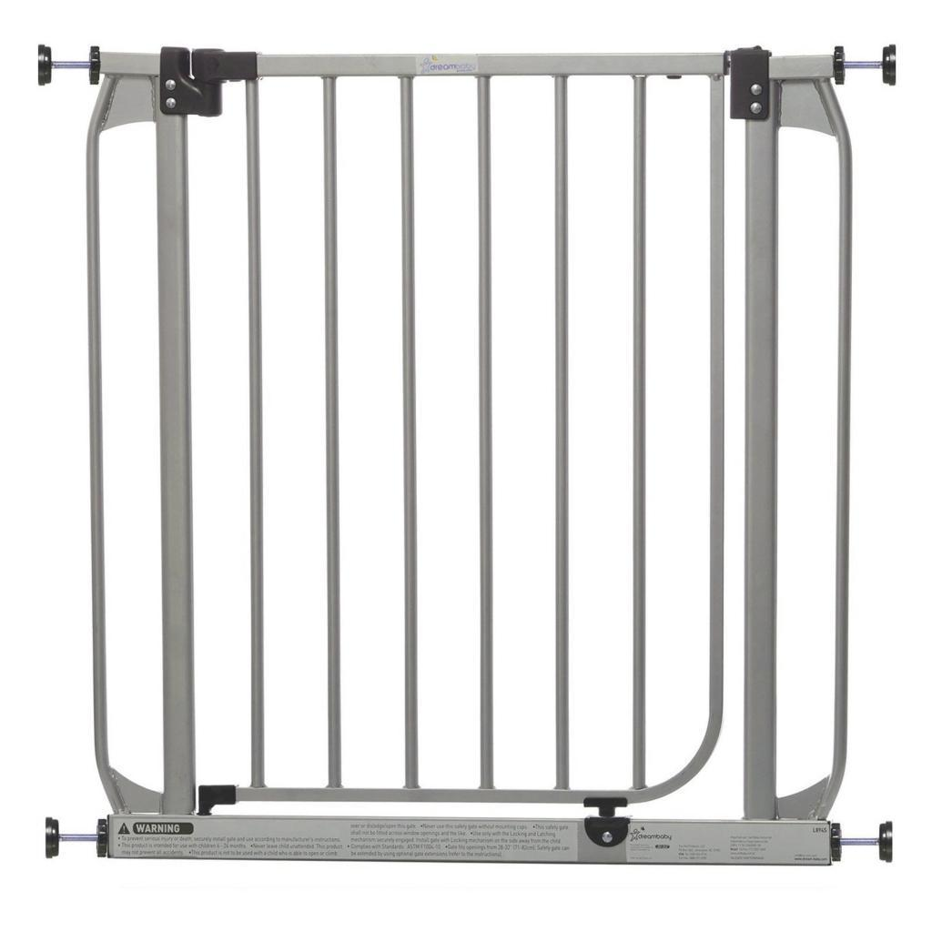 Dream Baby Swing Closed Security Gate (Silver)