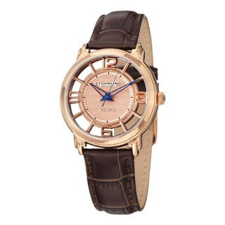 Stuhrling Original Women's Lady Winchester Quartz Swiss Quartz Strap Strap Watch